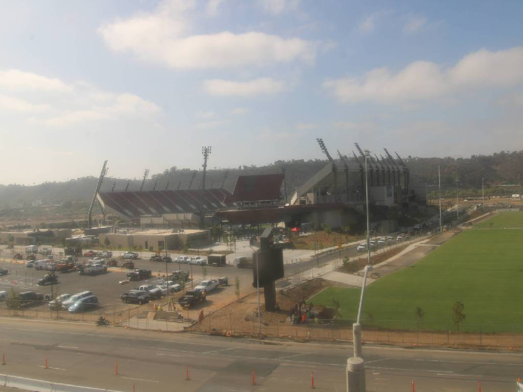 Mission Valley Construction Site Camera