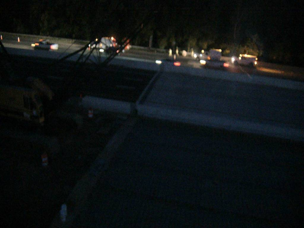 Construction at I-95 overpasses at Rappahannock River, City of Fredericksburg and Stafford County