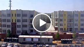 multi-family building time-lapse movie
