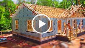 residential construction time-lapse video