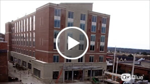 hotel construction time lapse video