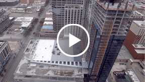 hotel construction time-lapse video