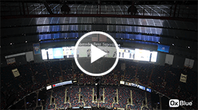 superdome stadium time-lapse