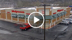 retail building time-lapse video